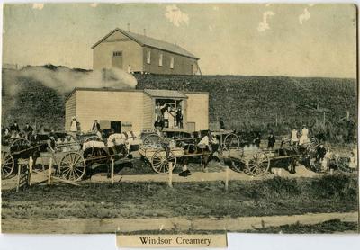 Windsor Creamery; Mahan, Robert (b.1862, d.1928); P0019.740