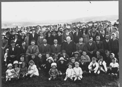 Unidentified Group, Church Reunion (?), Waitaki Valley.
