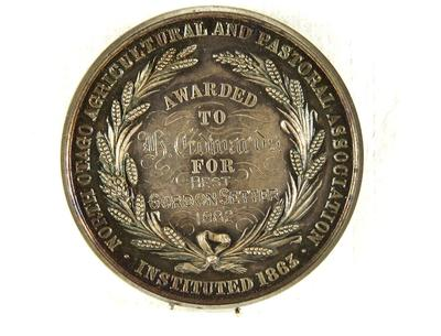 North Otago Agricultural and Pastoral Association Medal