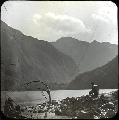 Man at Lake Bernard