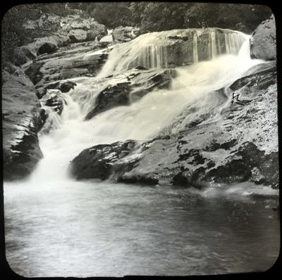 Waterfall, location unidentified