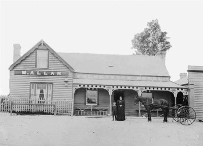 First Palmerston Hotel (M. Allan) 1897 -1900.