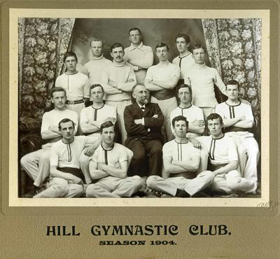 Hill Gymnastic Team