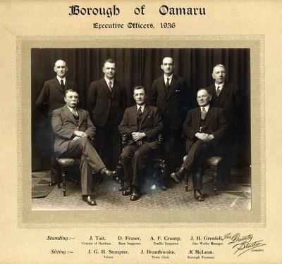 Borough of Oamaru Executive Officers