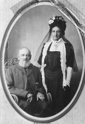Joseph Rhodes Barrett and Margaret Ashwell, married Oamaru 31 October 1864.