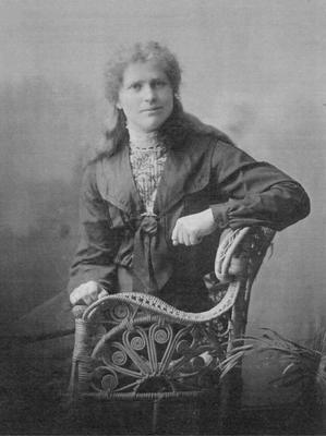 Clara Anderson (1880 - 1929), daughter of Adam Anderson, Herbert