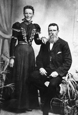 James Scott Dalgety and Janet Dalgety (nee Doak), Kakanui.