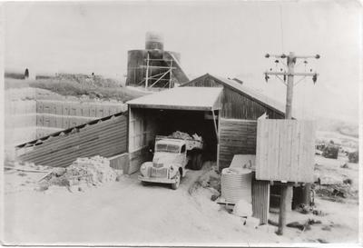 Lime Crushing Shed at Totara Tree Stone Co Quarry