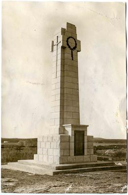 Maheno World War One memorial.