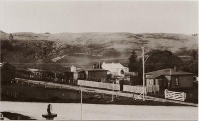 End of the railway line, Ngapara.