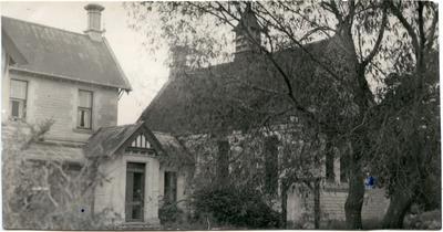 St. Alban's Anglican Church vicarage and chapel, Kurow.