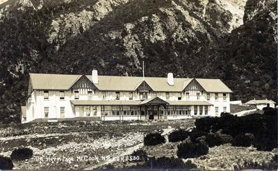 The Hermitage, Mt. Cook New Zealand.