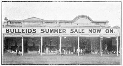 J Bulleid's Shop, c.1887