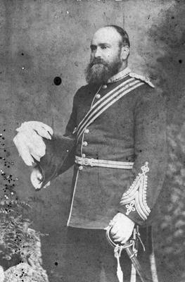 George Sumpter in volunteer uniform