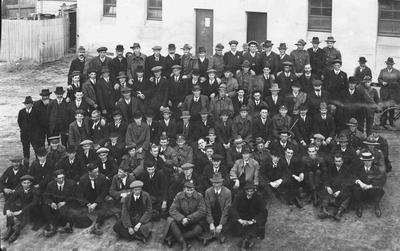 7th Regiment's departure for Trentham