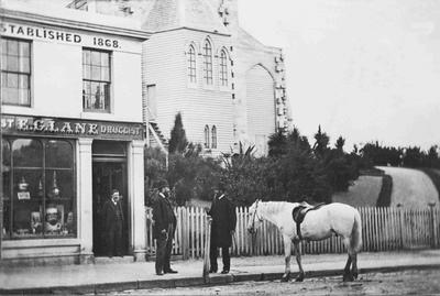Reverend Algernon Gifford and E G Lane