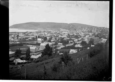 Elevated View, Oamaru. View facing south east