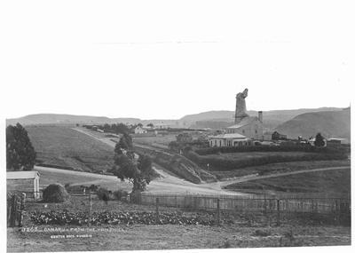 Oamaru from the Windmill