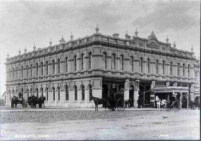 Queen's Hotel. Johnston proprietor