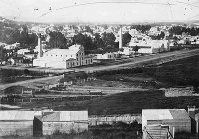 Elevated View, Oamaru, Severn street