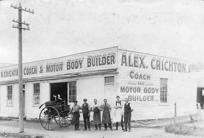 A Crichton Coach & Motor Body Builder