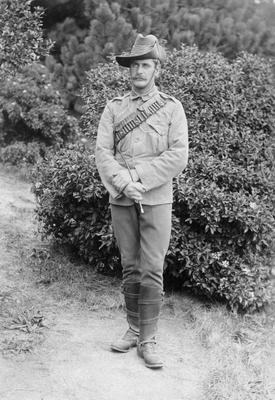 Robert Lawrence, Boer War Soldier.
