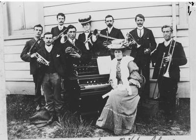 Baptist Church Bible Class Orchestra 1903.