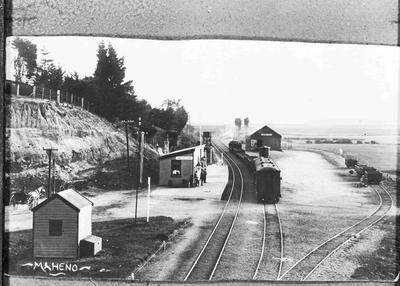 Maheno Railway Station in North Otago