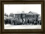 Railcar at Kurow