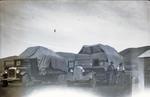 Kurow Motor Garage trucks transporting wool