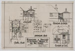 Alterations & Additions to Residence, Wharfe St, for Mrs Vennel