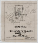 Alterations to Residence, Wharfe St, for Mrs Vennell