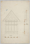 Untitled - Section of Side Window [Residence Oamaru for J Bulleid Esq]