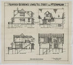 Proposed Residence, Lower Till Street, for Mr R Domigan