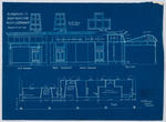 Alterations to Shop Fronts for Messrs J G Finch & Co - Blueprint