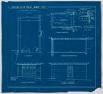 Proposed Motor Garage - Wharfe Street - Blueprint