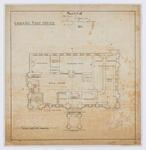Oamaru Post Office - Ground Floor Plan (laminated)
