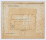 Oamaru Post Office - First Floor Plan (laminated)