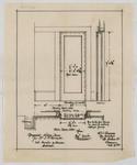 Proposed Sliding Door for Mr J M Forrester