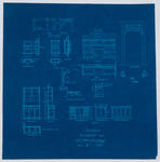 Details Residence for Thos McCone (Blueprint)