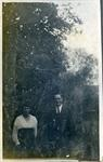Man and woman, unidentified