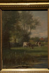 Untitled (Scene with cows)