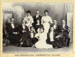 "Cast of ""Dandy Dick"", Palmerston Dramatic Club."
