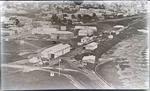 Oamaru rail yards. First train station