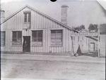 R Cunningham & Co, Grain Merchants; Connell & Clowes, Auctioneers. Henry Connell Land & Estate Agent. Tyne Street, Oamaru.