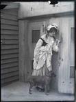 Female portrait unidentified. Elderslie Estate