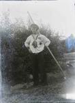 Unidentified man in Navy uniform