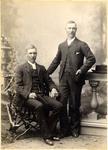 Portrait of two men, unidentified