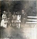 Florence and Frank Milner with their children. Waitaki Boys' High School