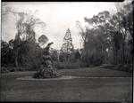 Wonderland statue, Oamaru Public Gardens.
